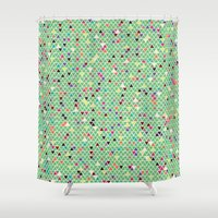 mexico Shower Curtains featuring Mexico by Camille Hermant