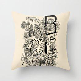 """DRAEM"" Dream Throw Pillow"