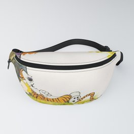 calvin and hobbes Fanny Pack