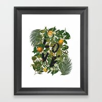 True Love (Oranges) Framed Art Print