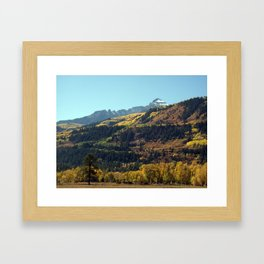 On the Road to Ouray Framed Art Print