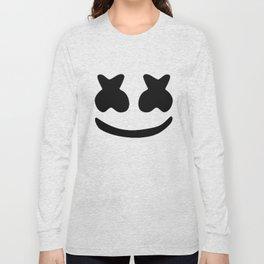 Marshmello face Long Sleeve T-shirt