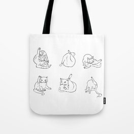cat butts Tote Bag