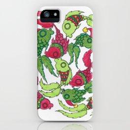 Christmas Tango iPhone Case