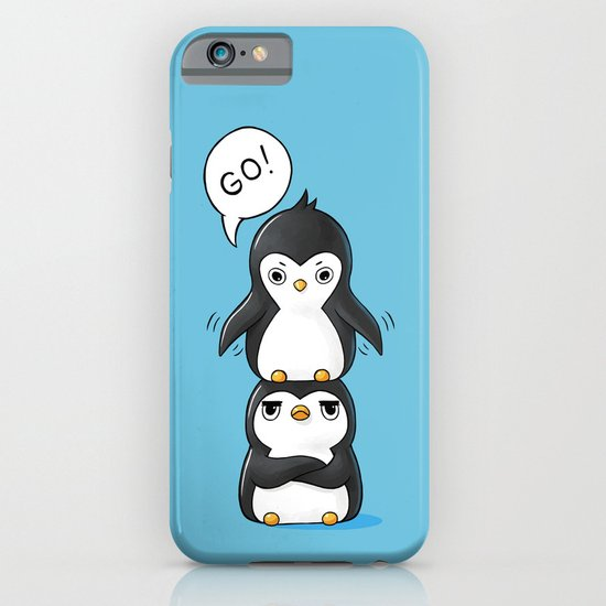 Penguins iPhone & iPod Case
