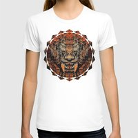 tooth T-shirts featuring Saber Tooth by Zandonai
