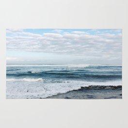 Sky meets Sea  Rug