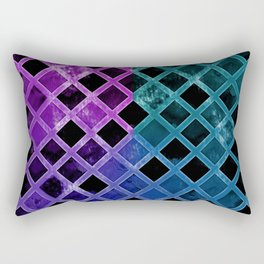 Abstract Geometric Background #24 Rectangular Pillow