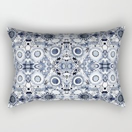 Indigo Bohemian Playground Rectangular Pillow