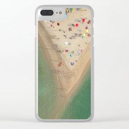 Aerial Koh Phangan Beach Thailnad Clear iPhone Case