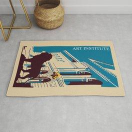 Art Institute Chicago Rug