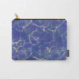 Marble Pool Digital Abstract Design Carry-All Pouch