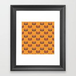 Autumn retro 2 Framed Art Print
