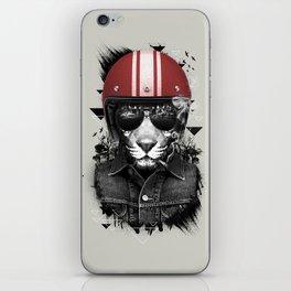 Jungle Rider iPhone Skin