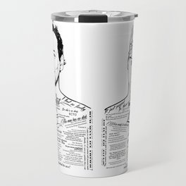 Dan Aykroyd Tattooed Ghostbusters Travel Mug
