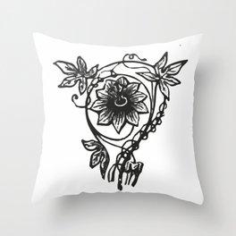 Flowers 5 Throw Pillow