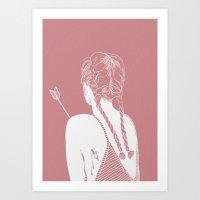 arrow Art Prints featuring Arrow by k ei t