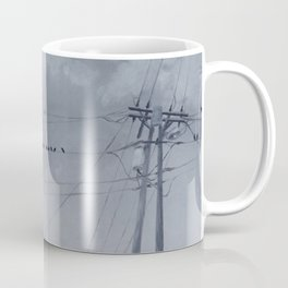 The Sky of the Man Coffee Mug