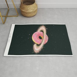 THE DONUT PLANET Rug