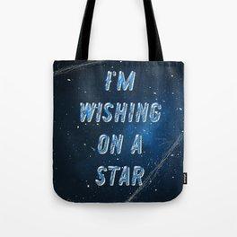 I'm wishing on a Star - 50 Years Moonlanding Tote Bag