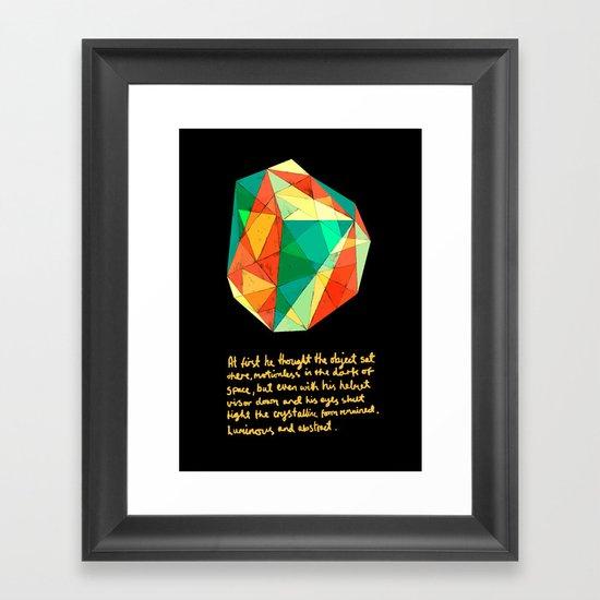 Shape Framed Art Print