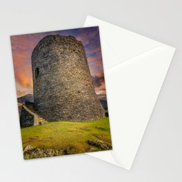 Dolbadarn Castle Snowdonia Wales Stationery Cards