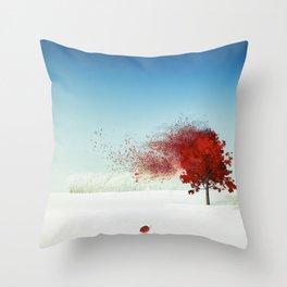 Autumn Dust Throw Pillow