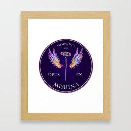 Deus Ex Mishina Framed Art Print
