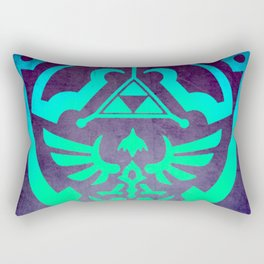Zelda Shield Rectangular Pillow
