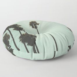 Space and the palms Floor Pillow