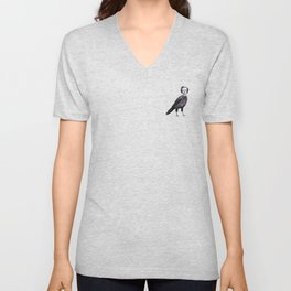 Edgar Allan Crow Unisex V-Neck