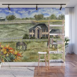 The Horse Ranch Wall Mural