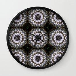 Dandelion Fluff Manipulation Grid Wall Clock