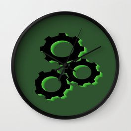 Crank It Up Wall Clock