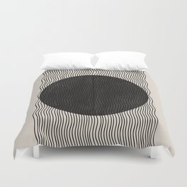 Woodblock Paper Art Duvet Cover