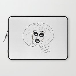 Beautiful Spooky Stupid Laptop Sleeve