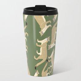 Cougar pattern #2 Travel Mug