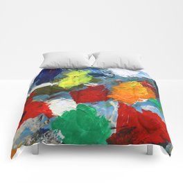 The Artist's Palette Comforters