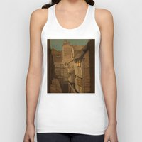 agnes Tank Tops featuring Dusk by Megs stuff