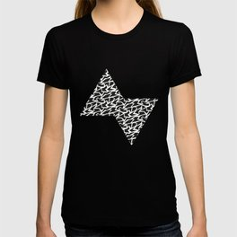 Black and White Polygons T-shirt