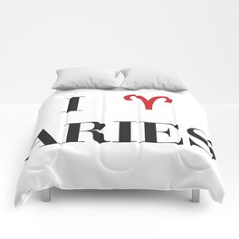 I heart Aries Comforters