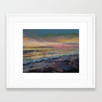 heaven Framed Art Prints featuring Heaven by Michael Creese
