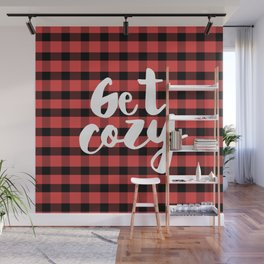 Let's get cozy with Flannel Wall Mural
