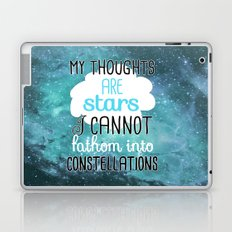 My Thoughts Are Stars Laptop & iPad Skin