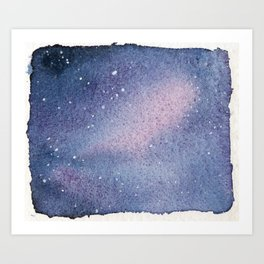 Galaxy 1 Art Print