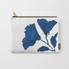 Indigo Shadow Bloom - Blossoms 1 Carry-All Pouch