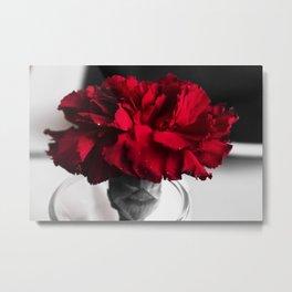 Bold Red Metal Print