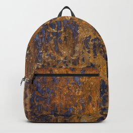 Rusted and Scratched Backpack