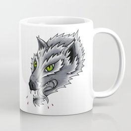 Trad Wolf Coffee Mug