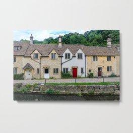 Cotswolds Terrace Metal Print